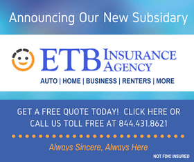 ETB Insurance Agency Side Banner