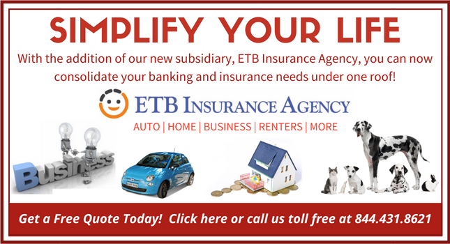 ETB Insurance Agency Rotating Banner In Simplified Chinese