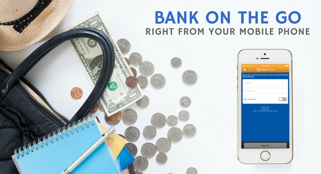 Bank On The Go With Your Phone Rotating Banner In Simplified Chinese